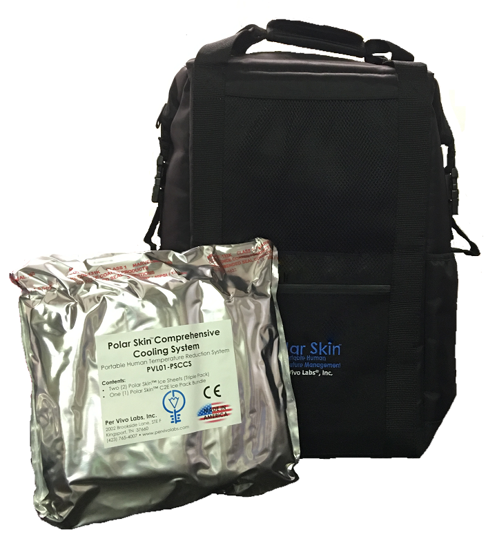 Polar Skin Complete Care Backpack Single Patient Per